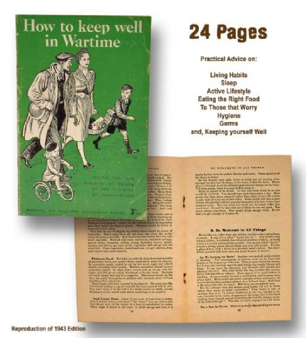 How to keep well in Wartime (24 Page Booklet)